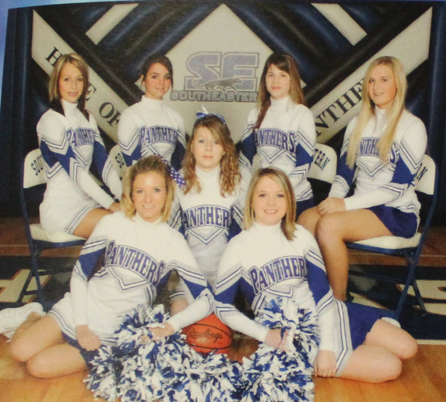 2009 Jv Cheerleaders