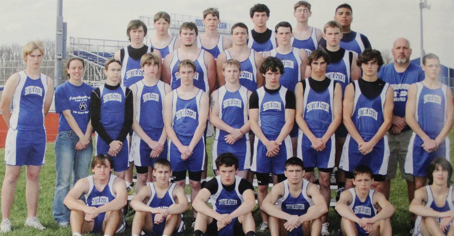 2009 Boys track