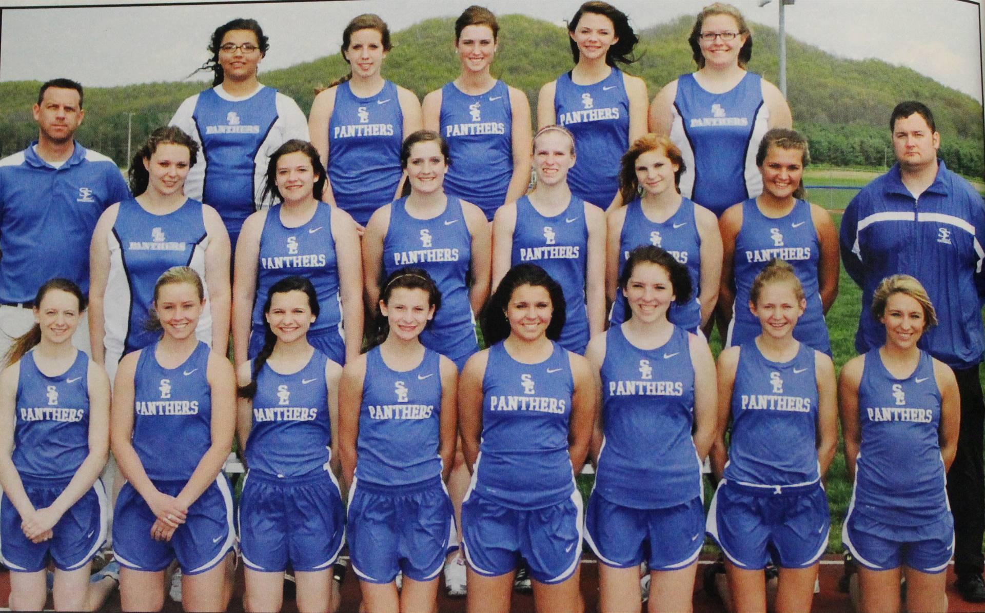 2012 Varsity Girls Track