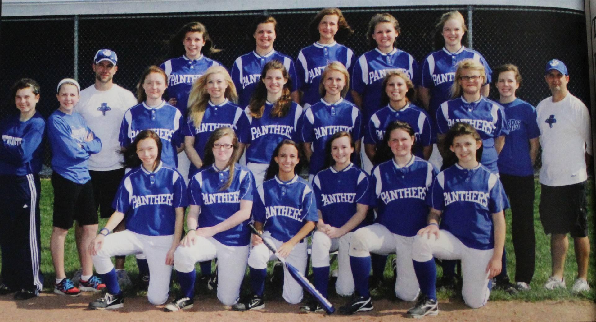 2012 Varsity Girls Softball