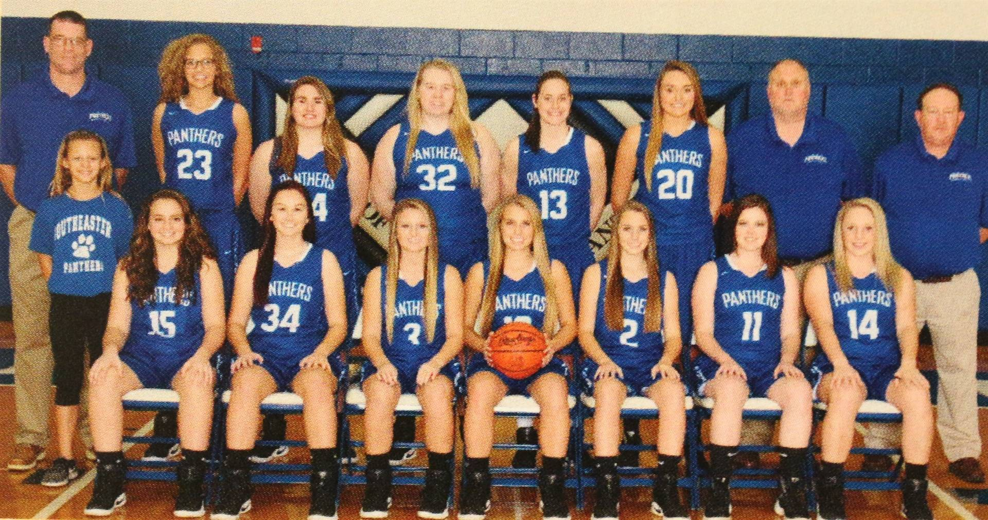 Varsity Girls Basketball 2018