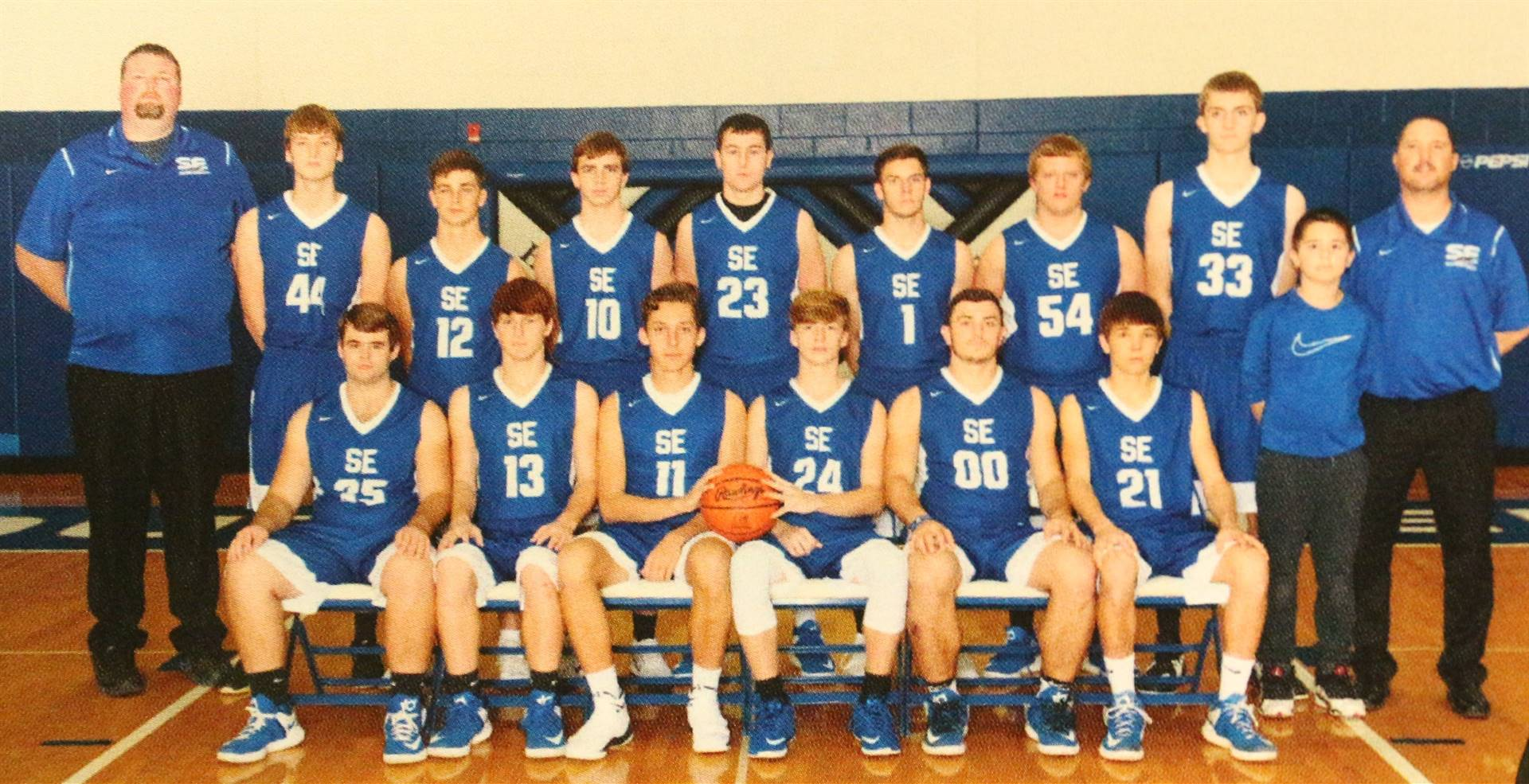 Varsity Boys Basketball 2018