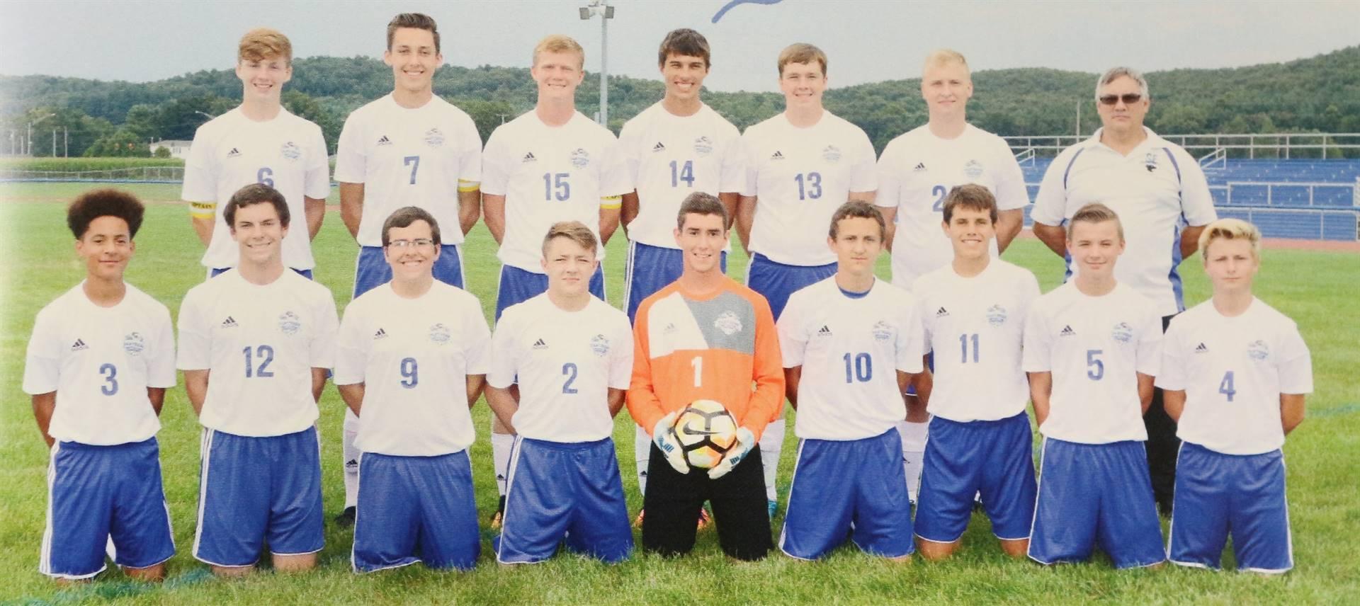 Varsity Boys Soccer 2018