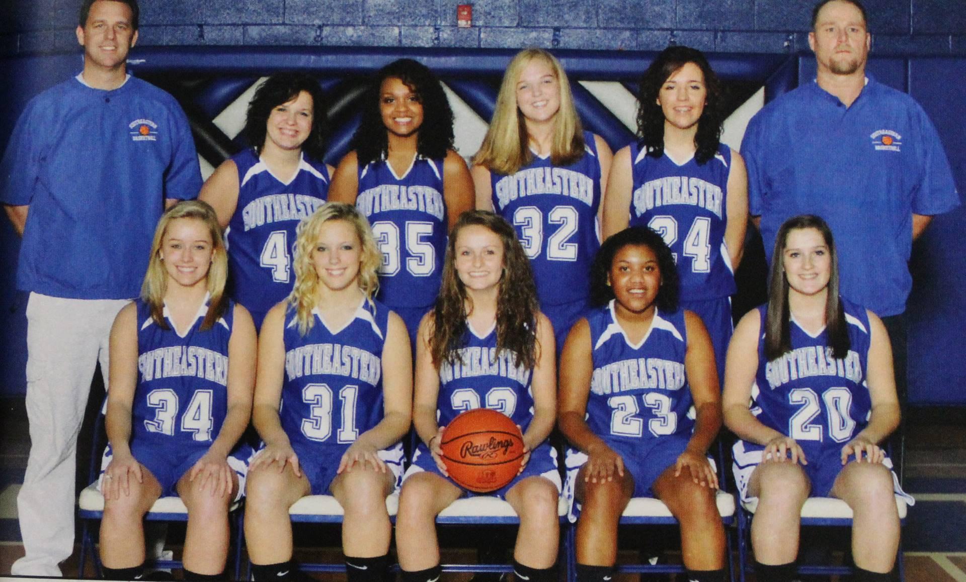 2012 Varsity Girls Basketball