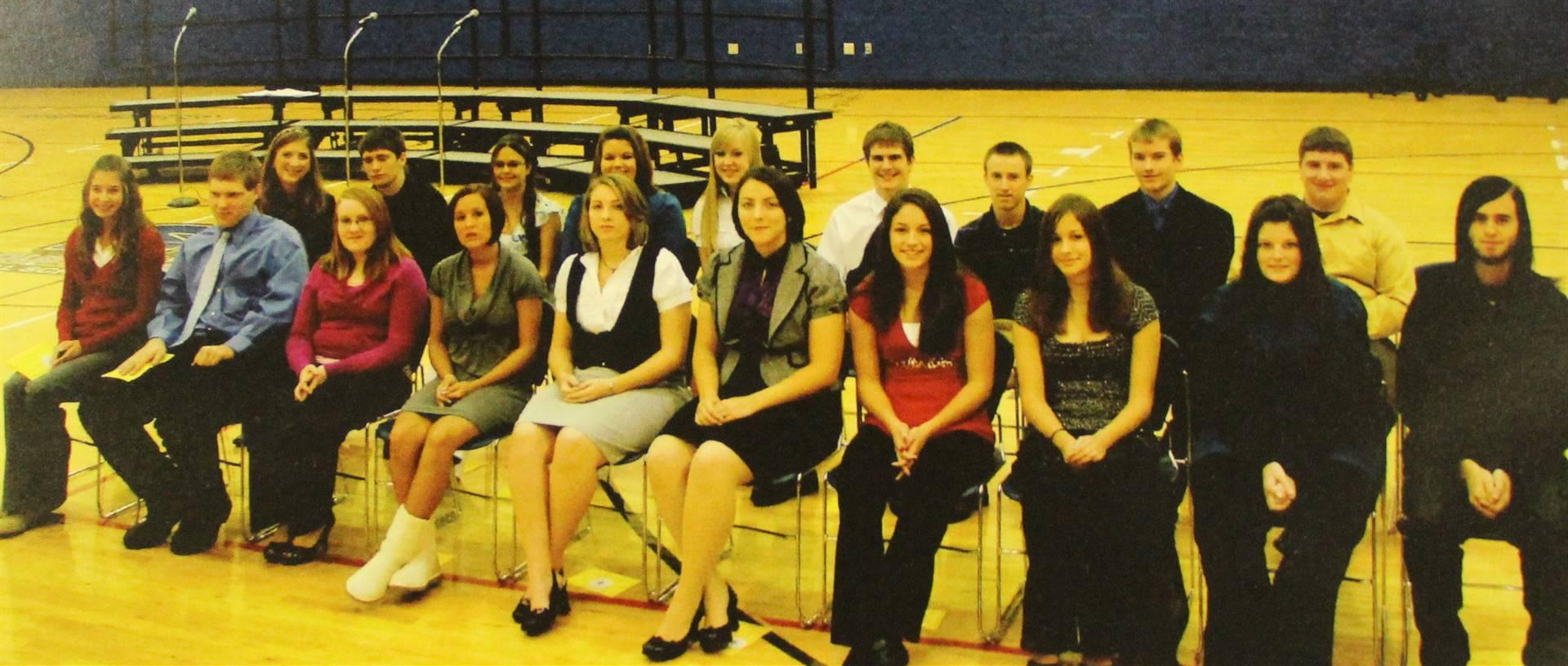 2009 NHS New members
