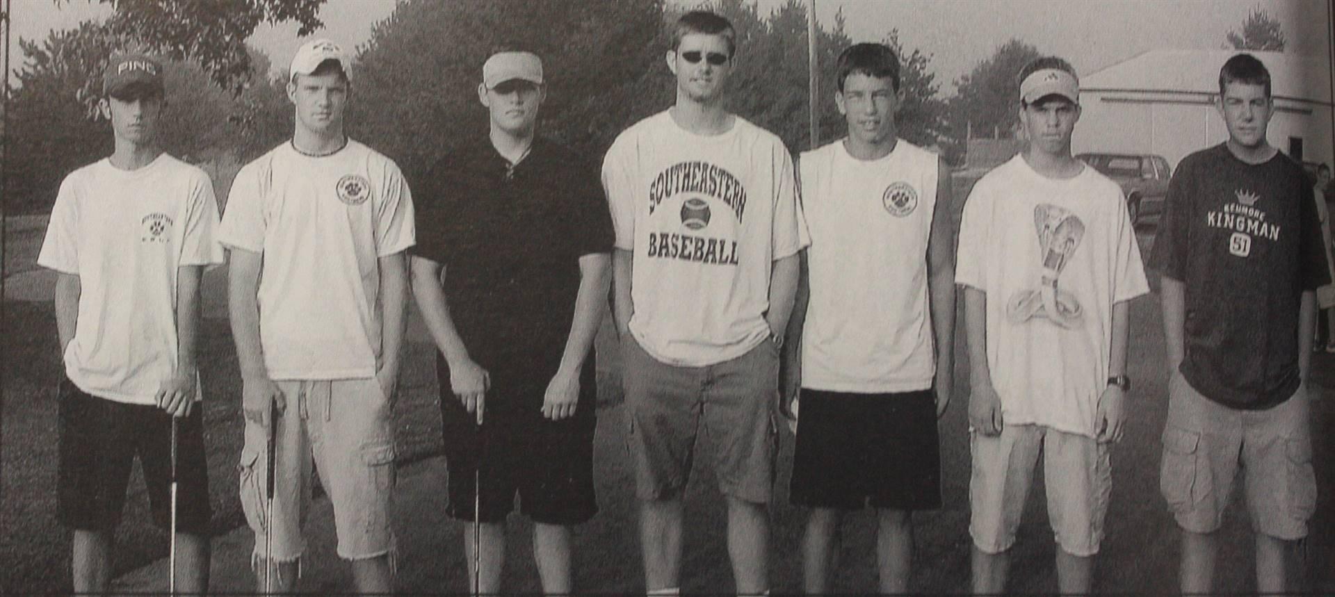 2002 Varsity Golf