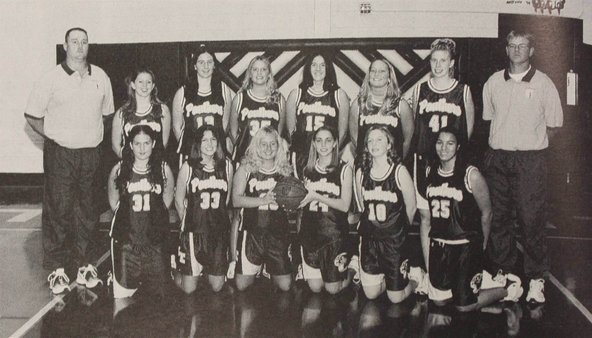 2002 Varsity Girls Basketball