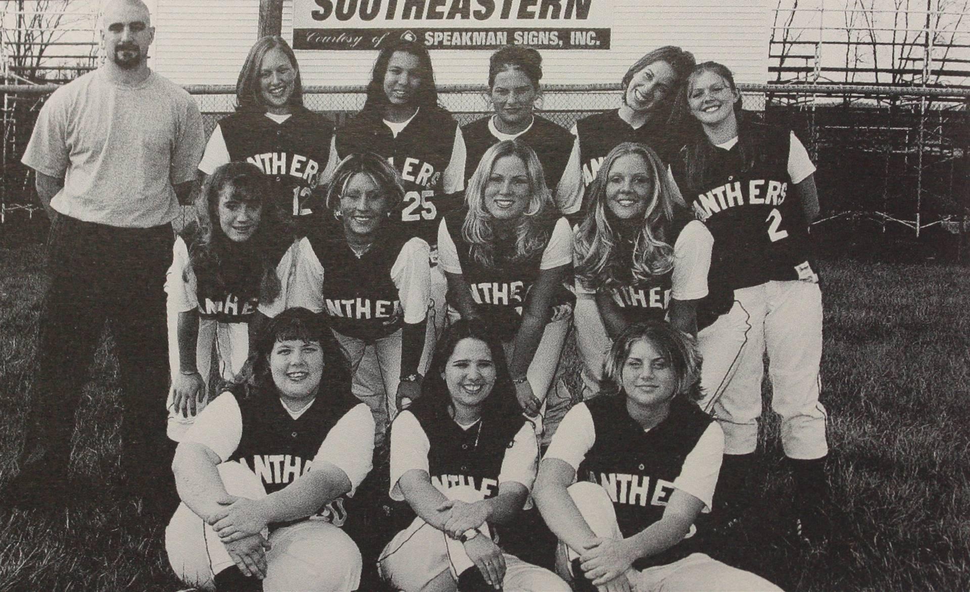 2002 Varsity Softball