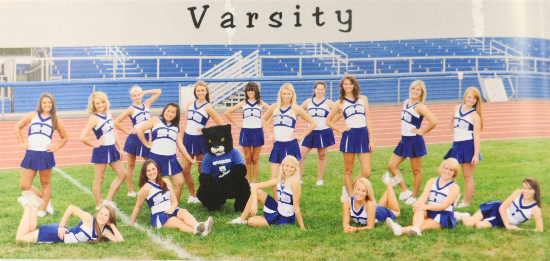 2013 Varsity Cheerleading