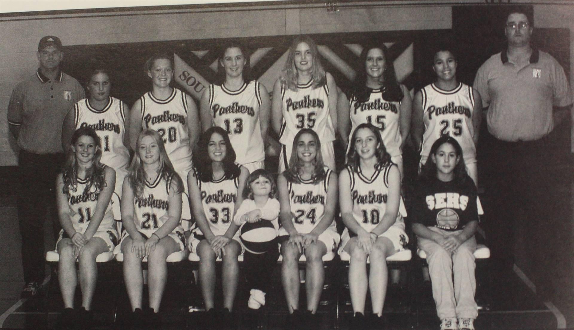 2003 Girls Basketball