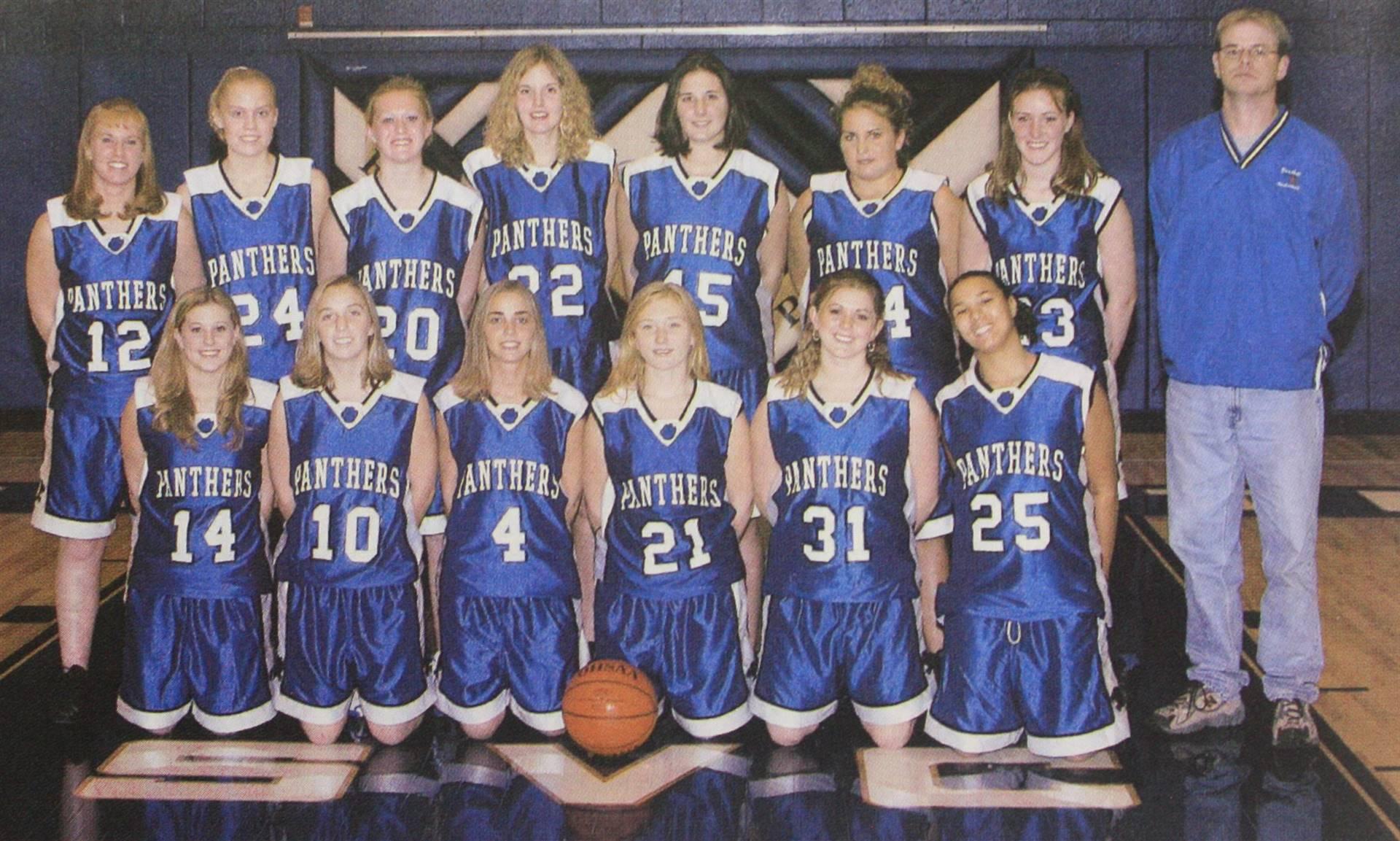 2004 Girls Basketball