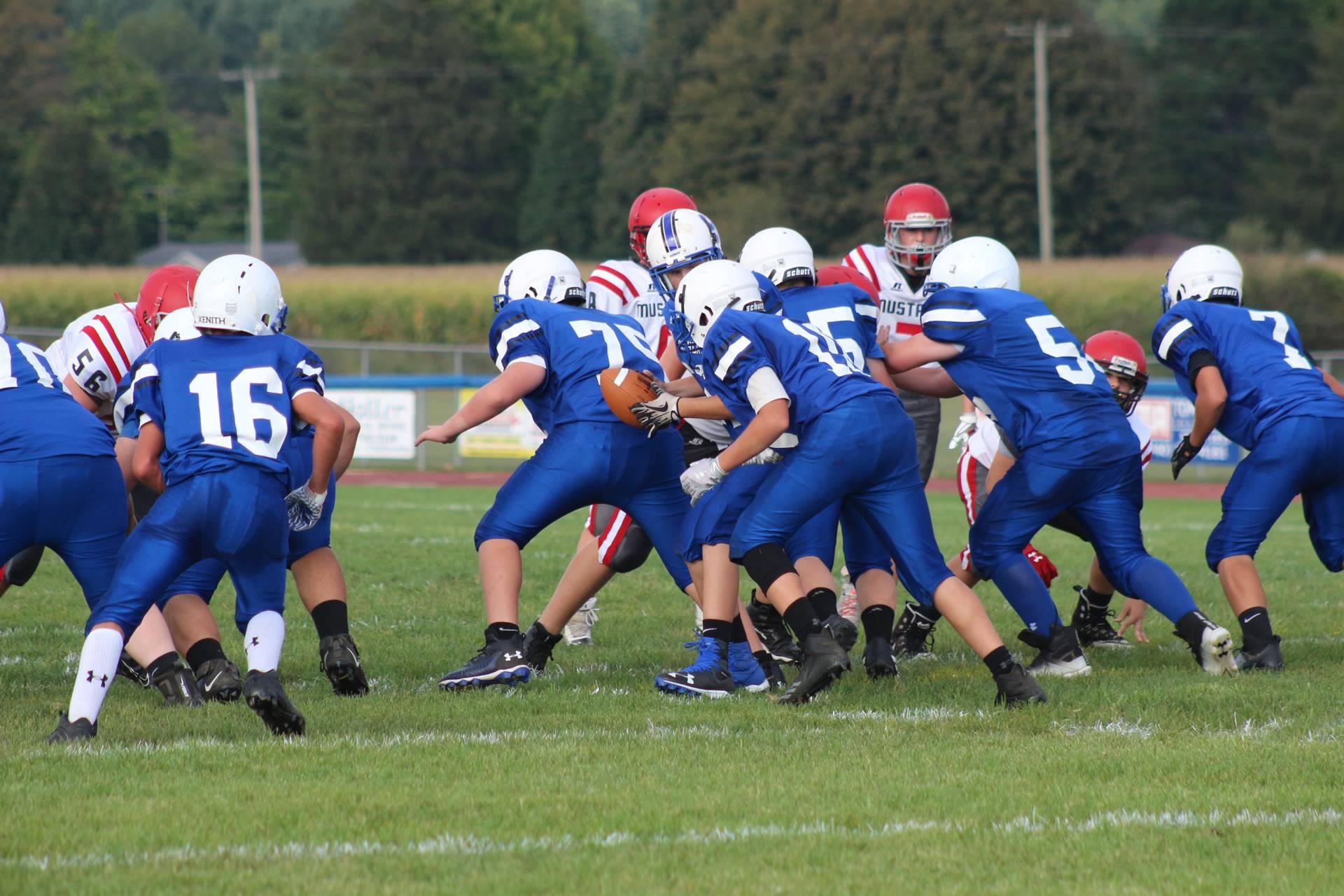 JH Football vs Westfall