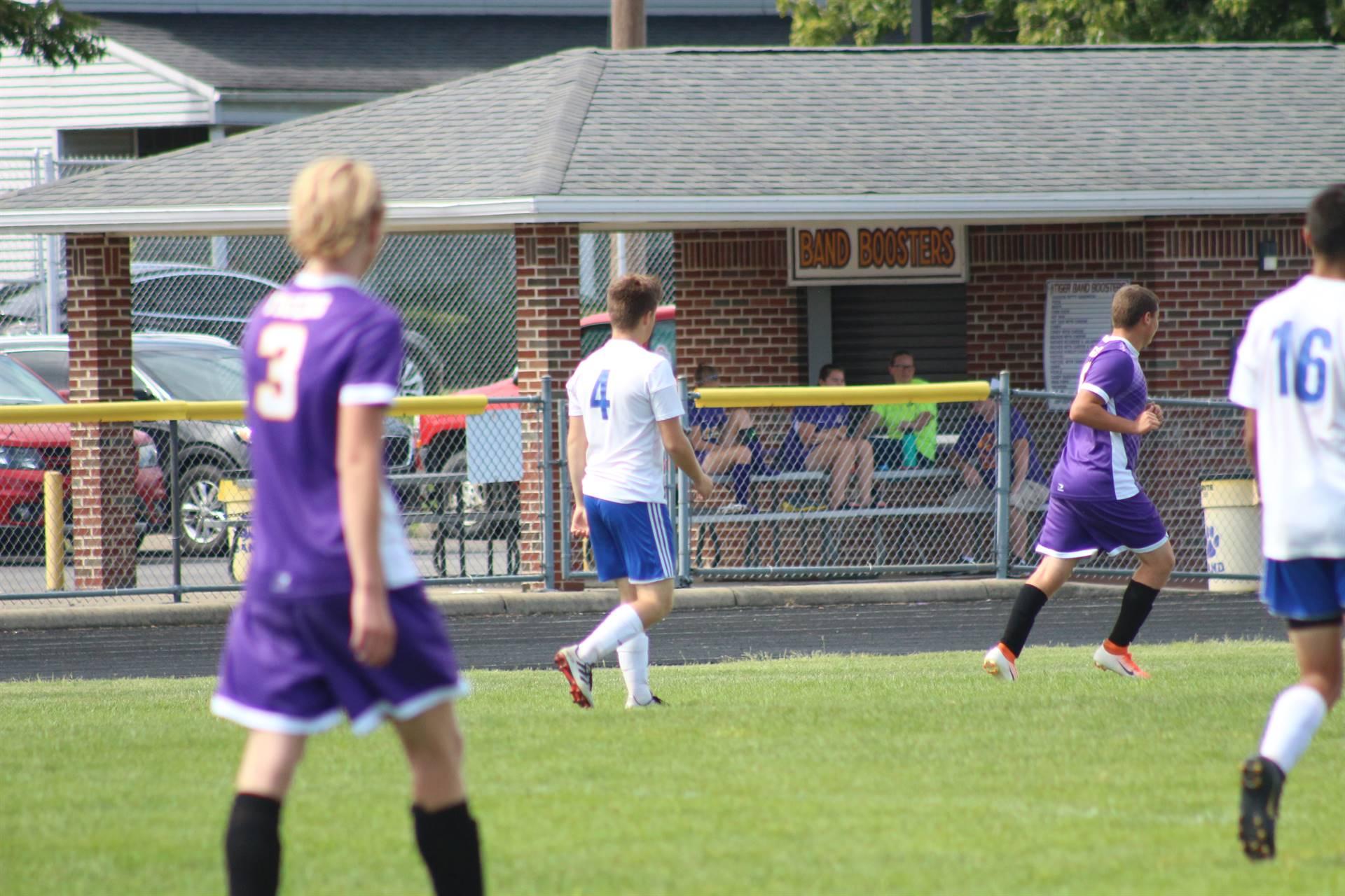 SE Boys Soccer vs McClain