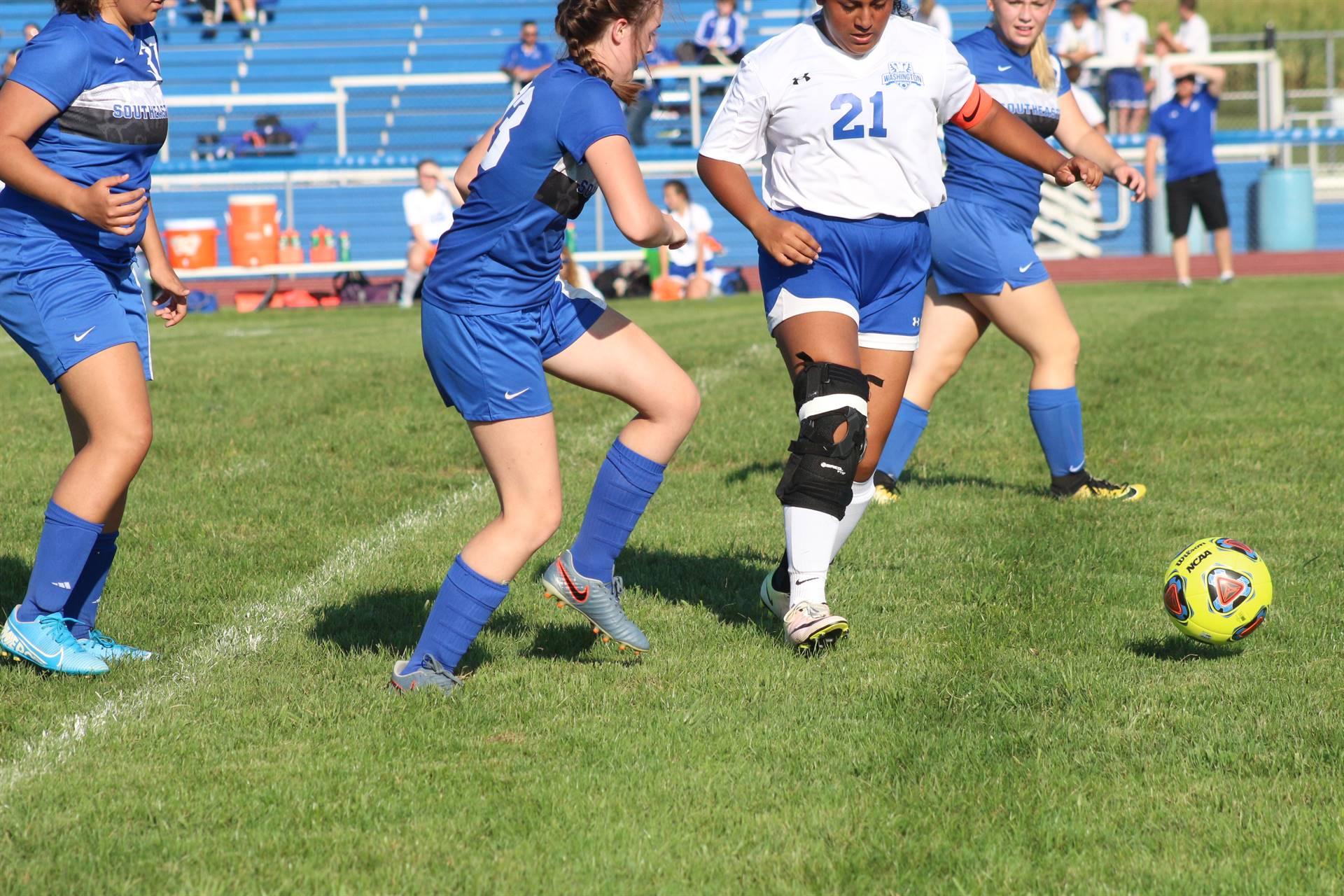 SE Girls Soccer vs Washington