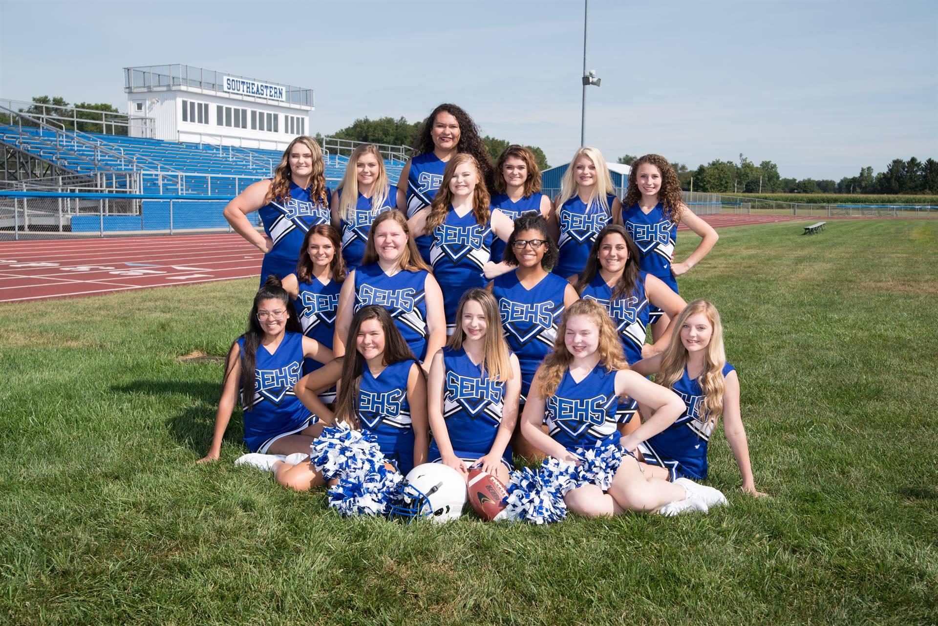 Varsity Cheer leaders