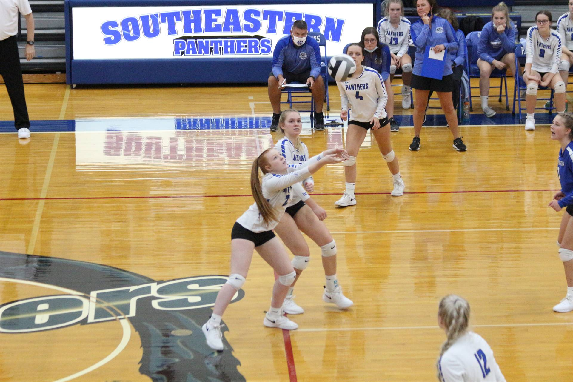 SE Volleyball vs Zane Trace