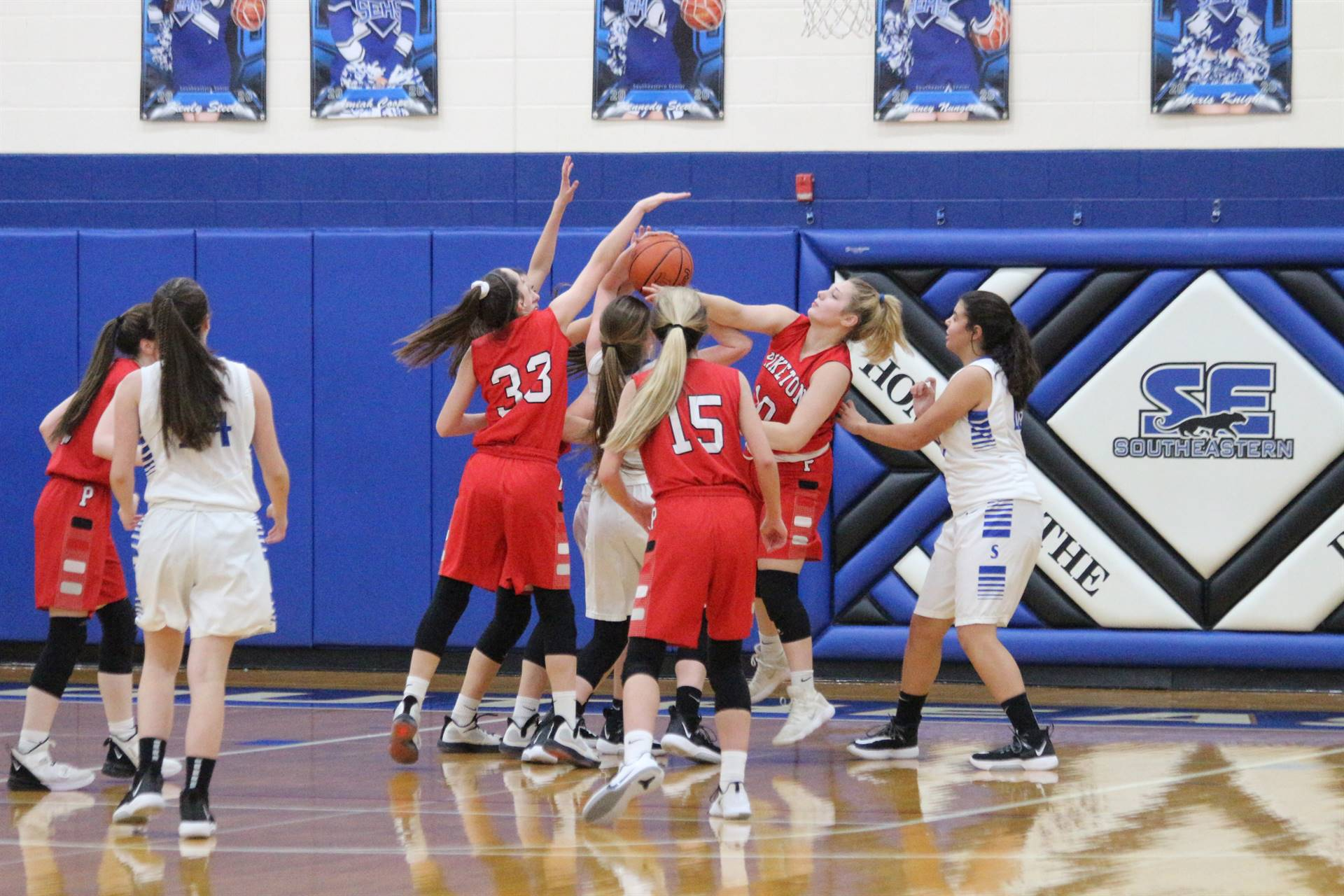 SE Girls Basketball vs Piketon 2
