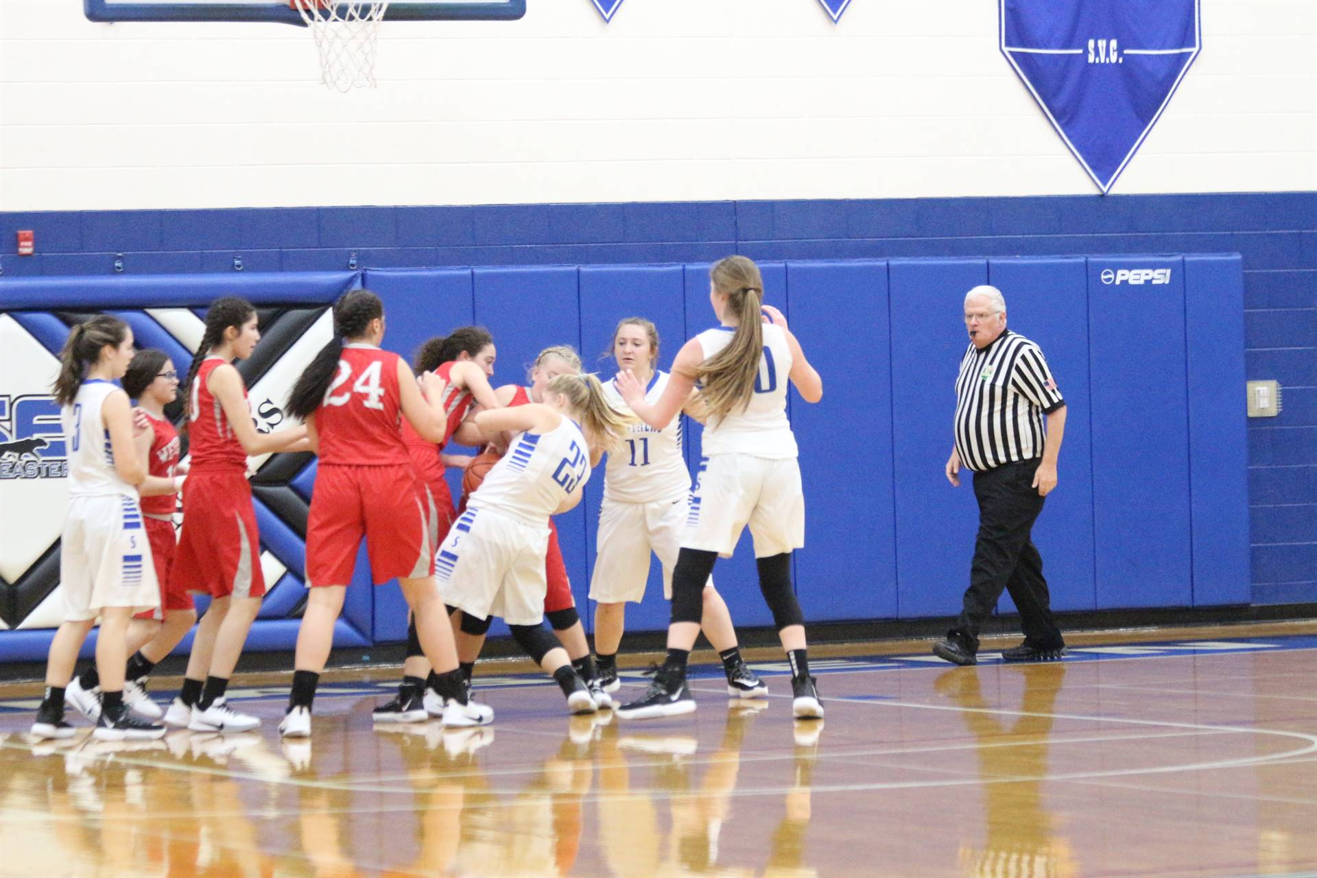 SE Girls Basketball vs Westfall