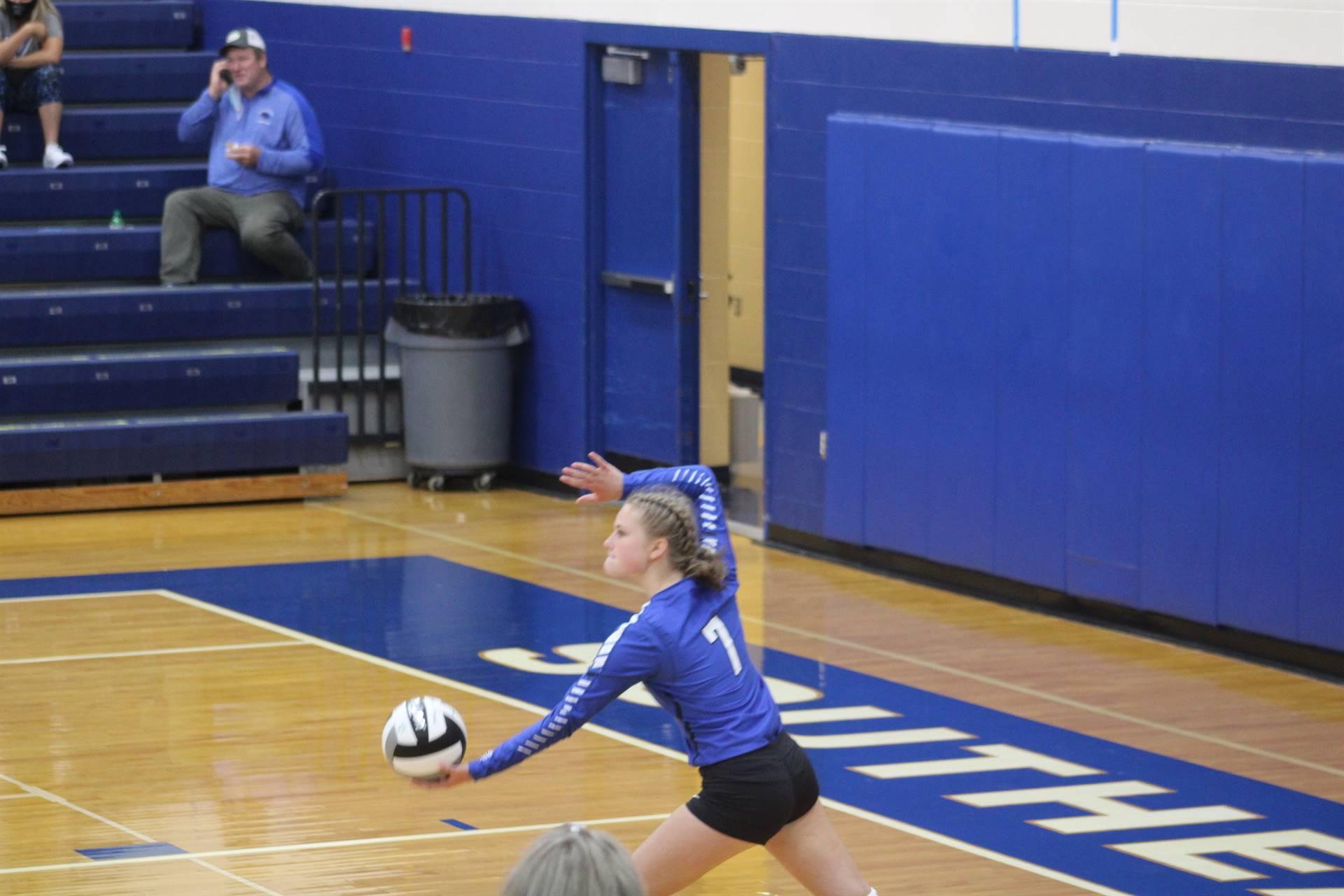 SE Volleyball vs Ironton