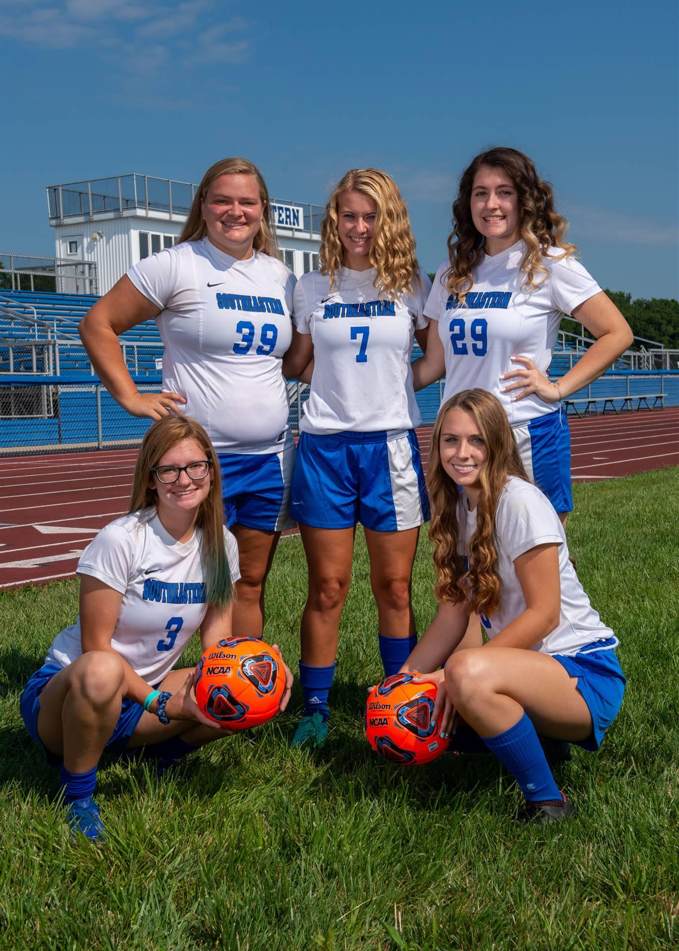 Girls Soccer Seniorss