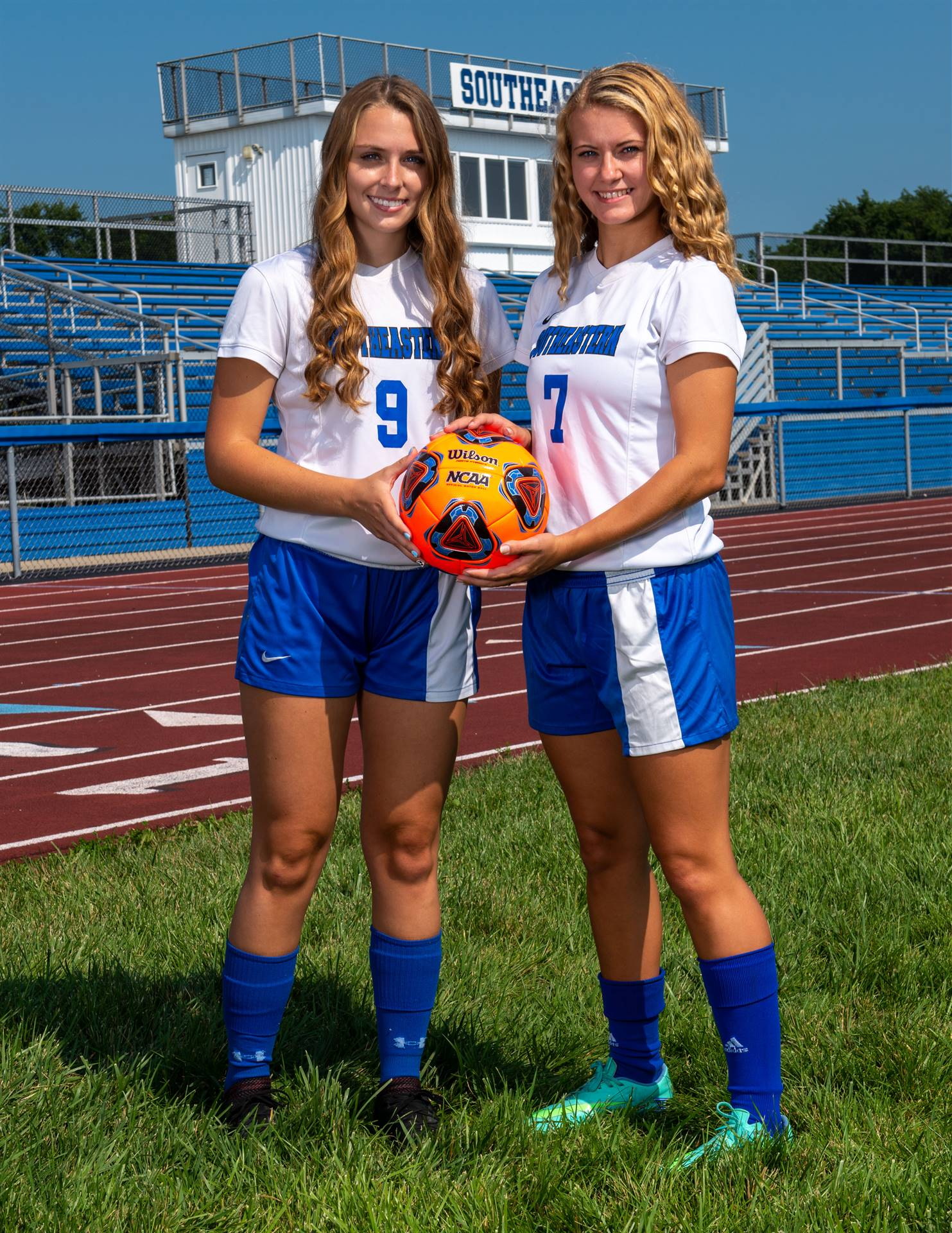 Girls Soccer Captains