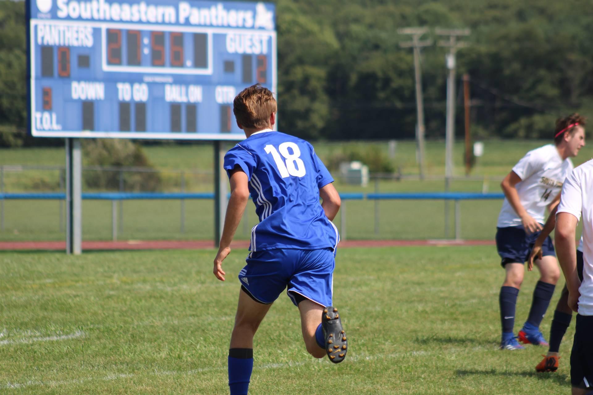 SE Boys Soccer vs South Point