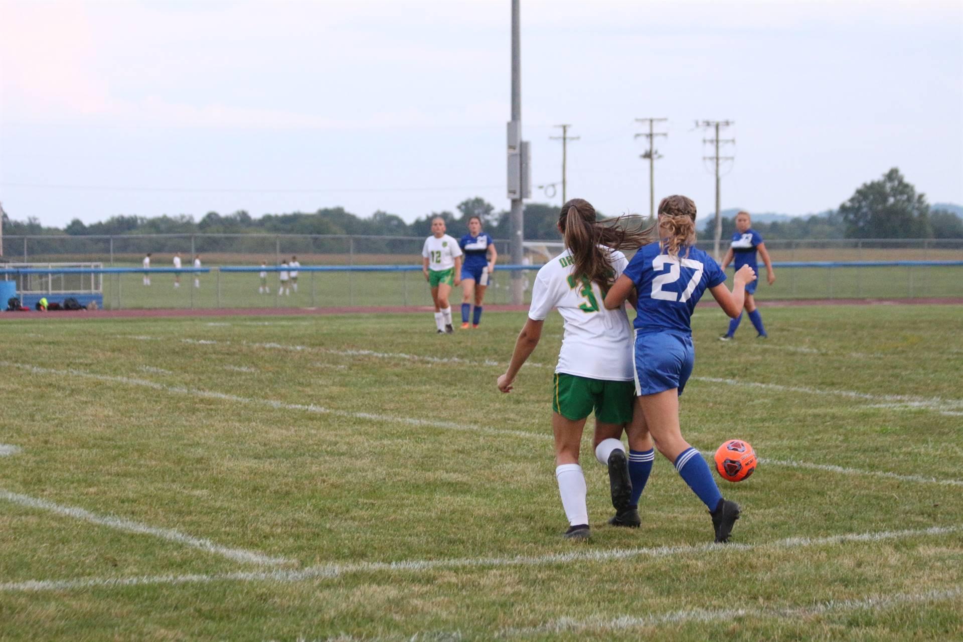 SE Girls Soccer vs West Union