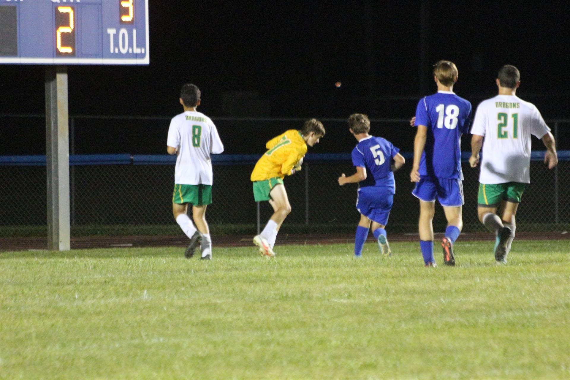 SE Boys Soccer vs West Union