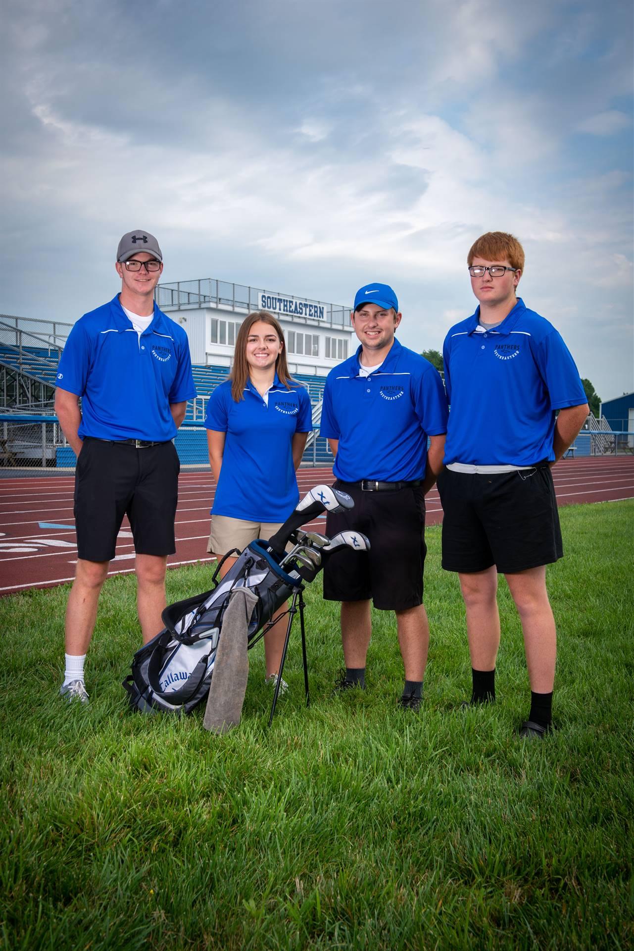 Golf Returning Lettermen