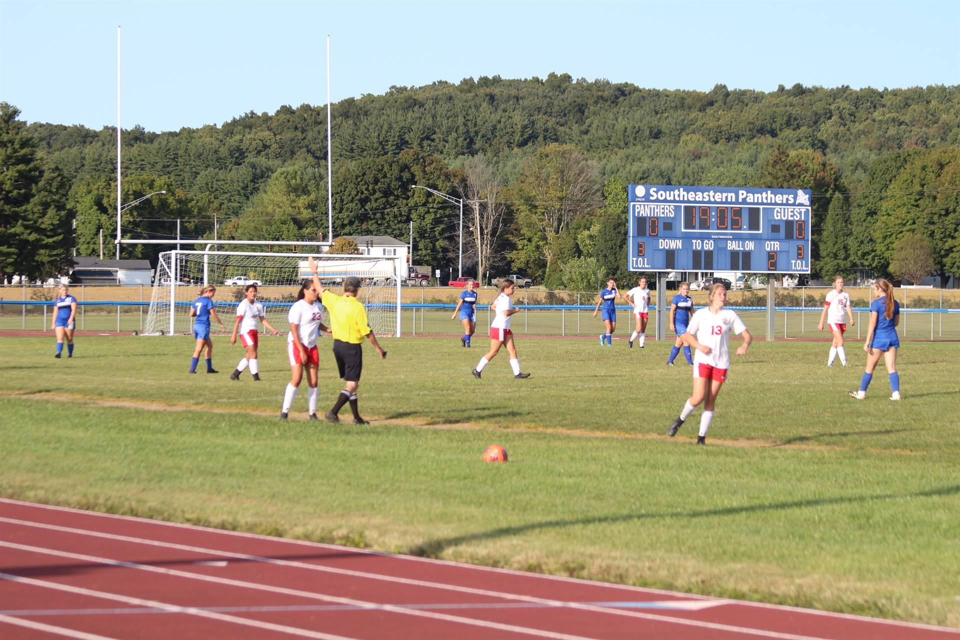 SE Girls Soccer vs Logan Elm