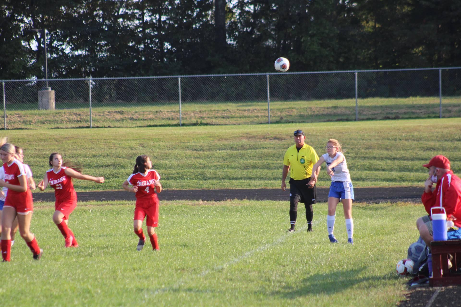 SE Girls Soccer vs Peebles