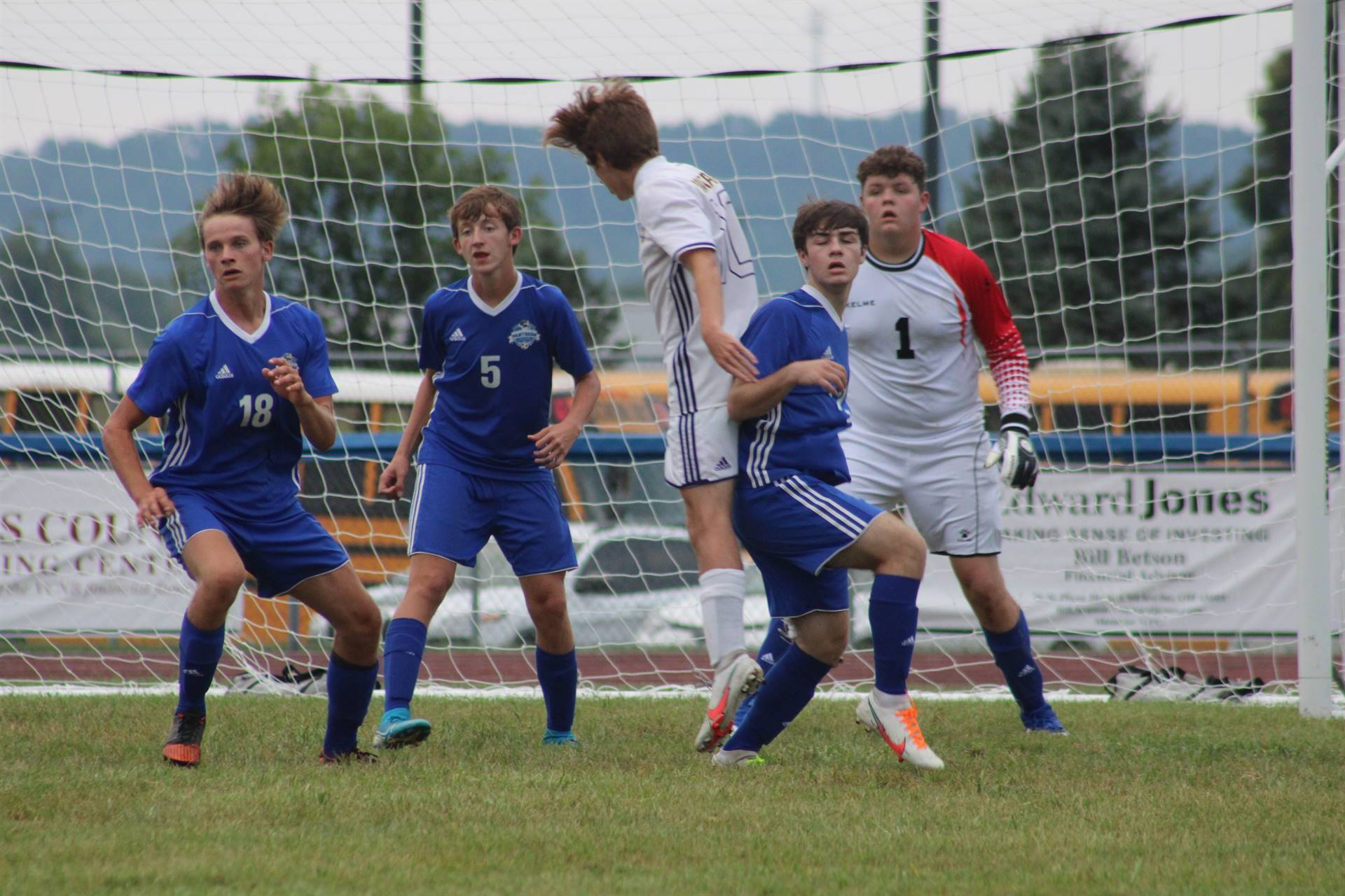 SE Boys Soccer vs Lucasville Valley
