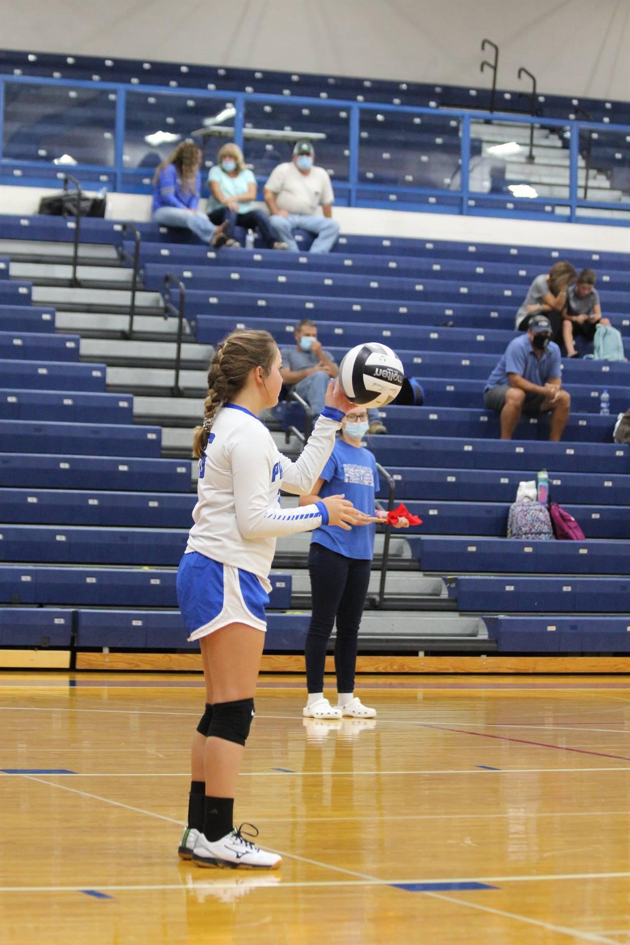 JH Girls vs Piketon Volleyball