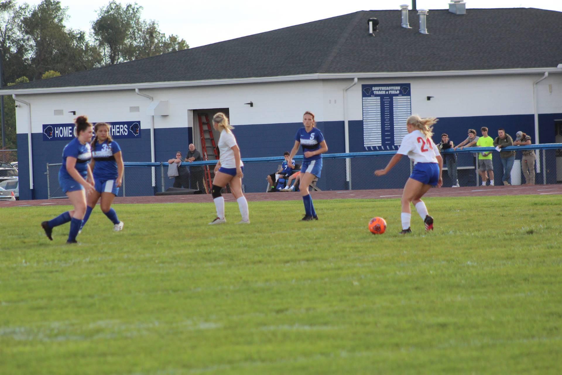 SE Girls Soccer vs Zane Trace