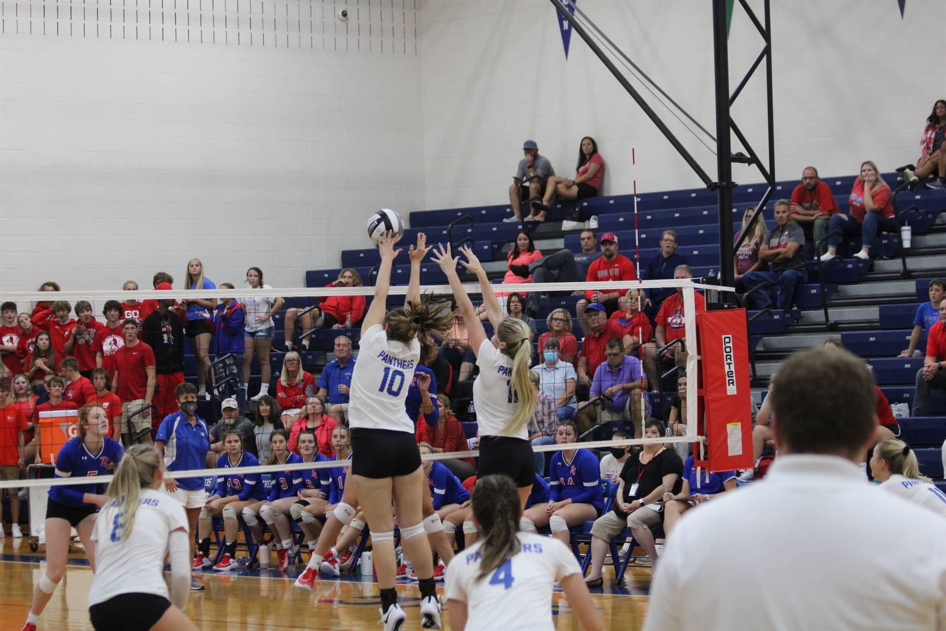 Varsity Volleyball vs Zane Trace