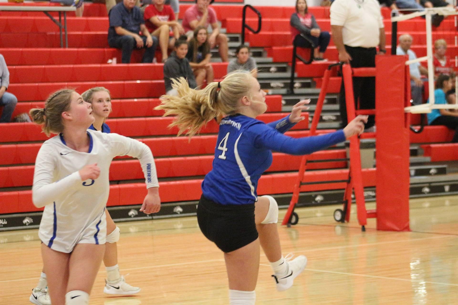 vJV Volleyball vs Westfall