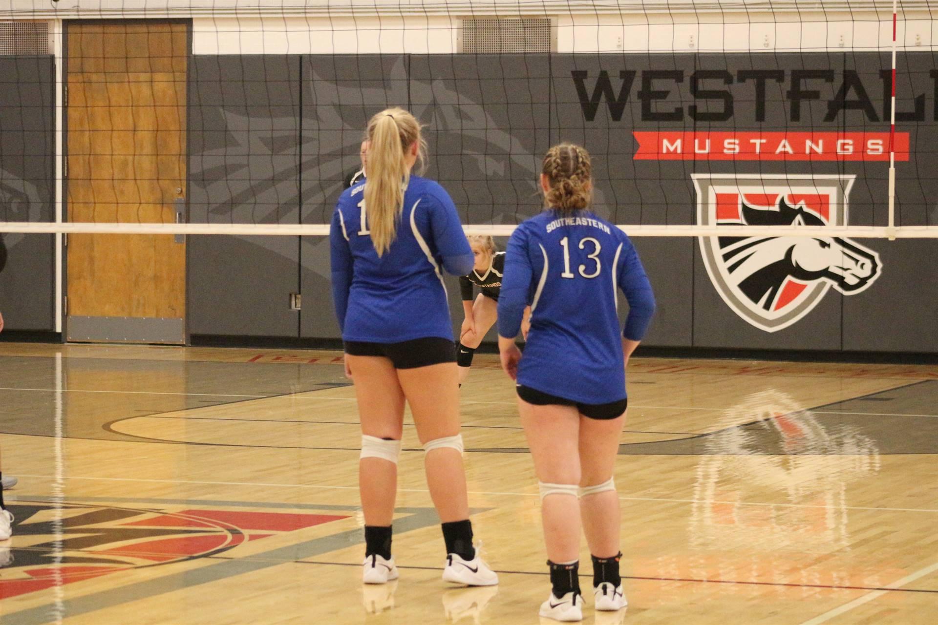 JV Volleyball vs Westfall