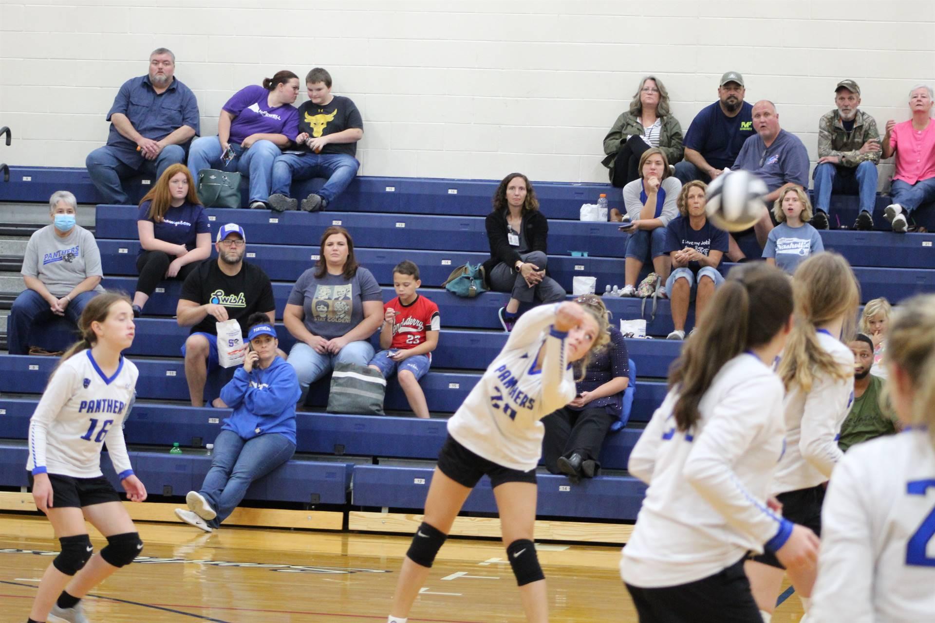 SE JH Volleyball vs Circleville