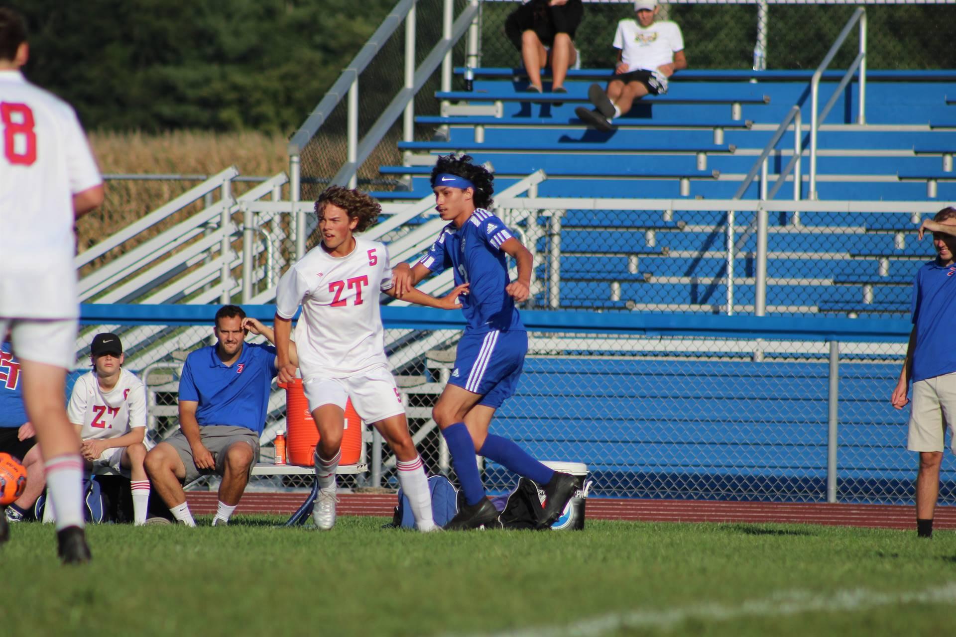 SE Boys Soccer vs Zane Trace